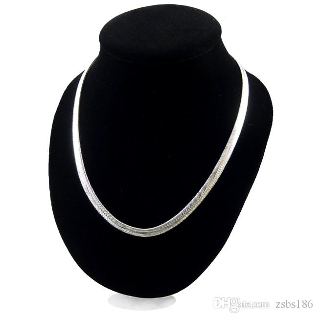 X16 Top quality 925 silver snake chain necklace 16-24inches 6MM classic fashion jewelry factory price