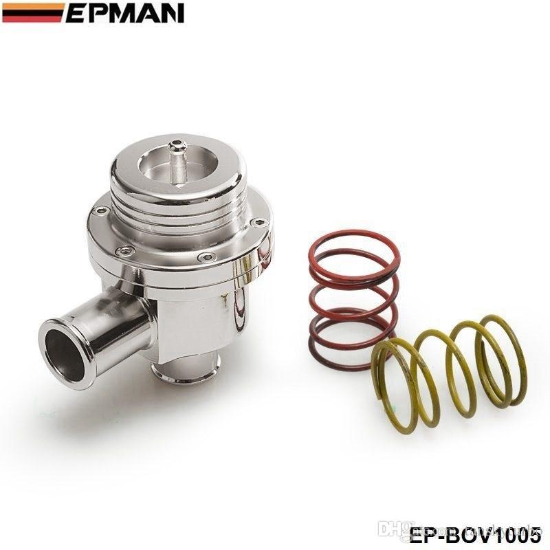 EPMAN Blow off valve 25MM BOV (4bar) FOR VW silver ( 2 spring are 14PSI and 7PSI) EP-BOV1005