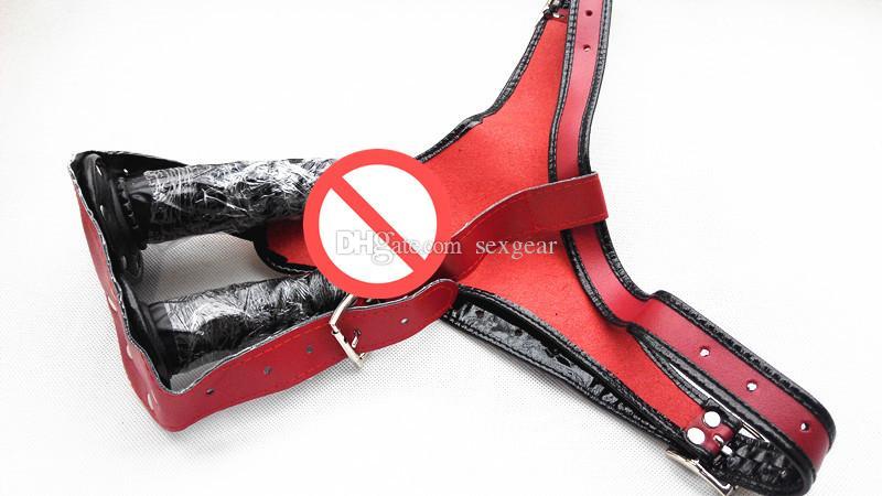 Jogos adultos masturbação brinquedos sexuais secretos cinta no pênis plugue anal vaginal vibrador calcinha fêmea cinto de castidade dispositivos mulheres SG-DP001-2