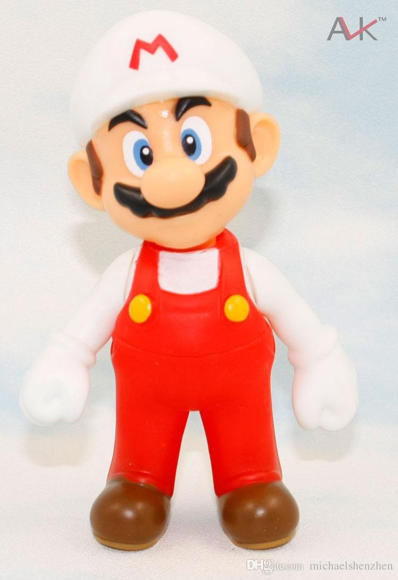 EMS Free 4 style Children Super Mario toys 2015 new PVC Super Mario and Luigi donkey kong Action Figures mario B001