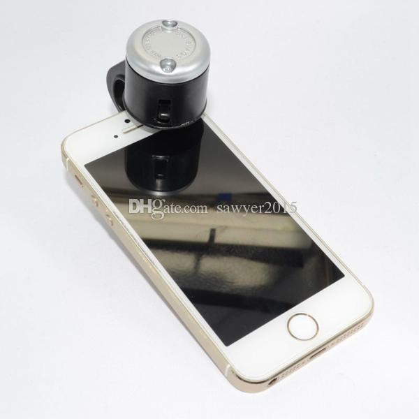 30X Universal Mobile Phone Lens Microscope Lens 30X Optique Zoom Télescope Clip de la caméra Objectif pour Iphone Samsung Smart phone