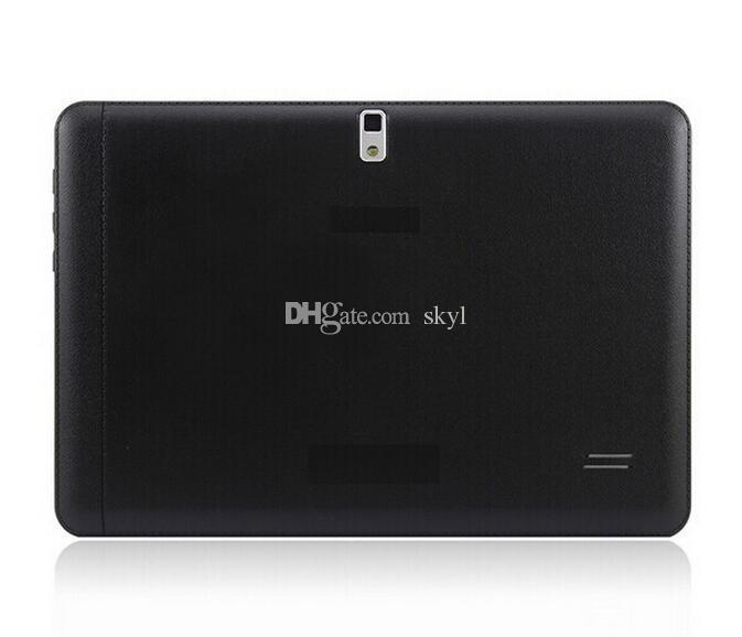 10 inch Tablet 3G tablet Dual core 1G+8G MTK6572 Android 4.4 phone call GPS Bluetooth Wifi Dual Camera DHL FREE