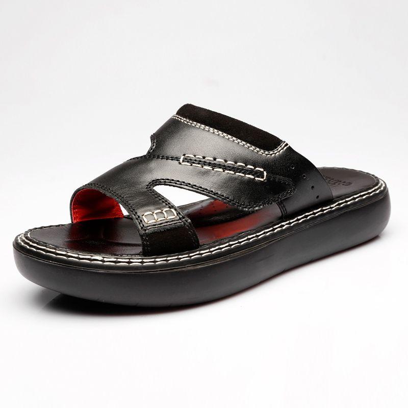 e21ecb3e2731 Slippers Flip Flops For Men Beach Flip Flops House Slippers Summer Leather  Sandals Fashion Slides Slip On House Pool Scuffs Shoes For Men Ladies  Footwear ...