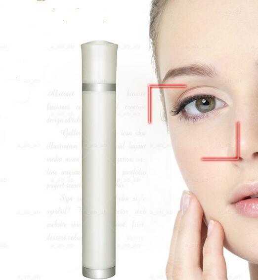 Olhos rugas Remoção Pen Eye Remover Massagem Instrumento de vibração Aço Bola Cabeça de beleza Ferramenta Eliminar borda preta do olho