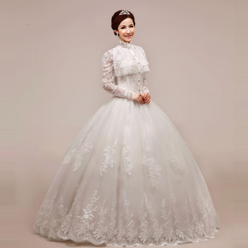 Discount 2013 Princess Dress Elegant Turtleneck Lace Puff Skirt ...