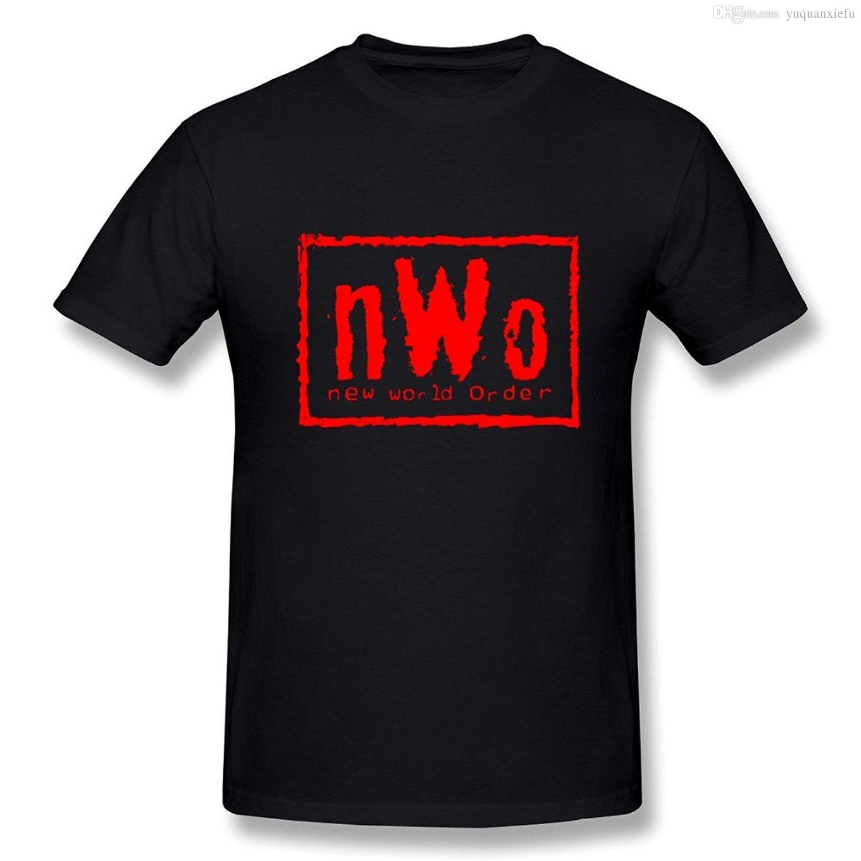 5c5ac9dc1fe96f Men S New World Order NWO T Shirt T Shirt Men Casual Man S Tee T Shirt  Women S Summer T Short Sleeve Black Tops Woman Costume 2017 Cool  Sweatshirts Online ...