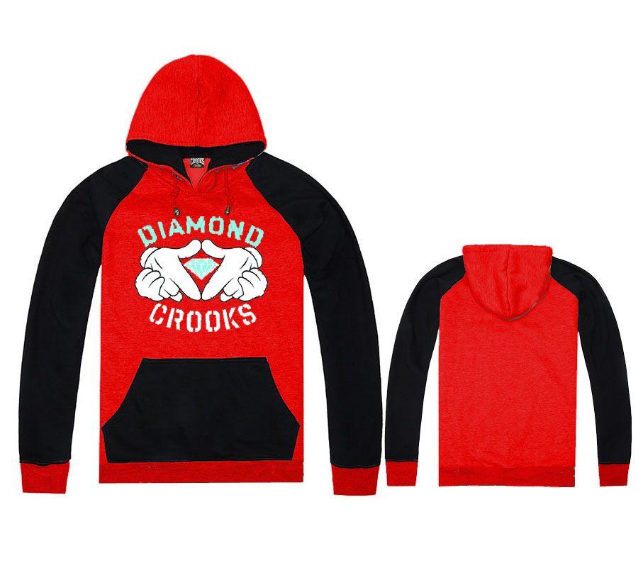Print Crooks And Castles Hoodies&Sweatshirts Men/ Women Fashion Cotton Clothes Cool Hip Hop Luxury In Plus Size XXL