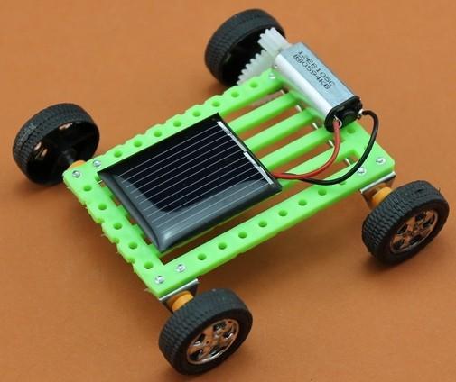 Diy Mini Solar Car Technology&Educational Solar Power Toys ...