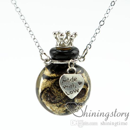 round wholesale diffuser necklace aromatherapy diffuser jewelry aromatherapy diffuser necklaces small glass vials wholesale essential oil ne