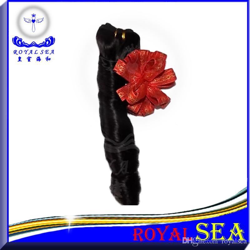 Royal Sea Curly Brazilian Peruvian Malaysian Indian Candy Wave Human Hair Weave Cheap Spring Curl Brizilian Hair 1 Bundle Deal