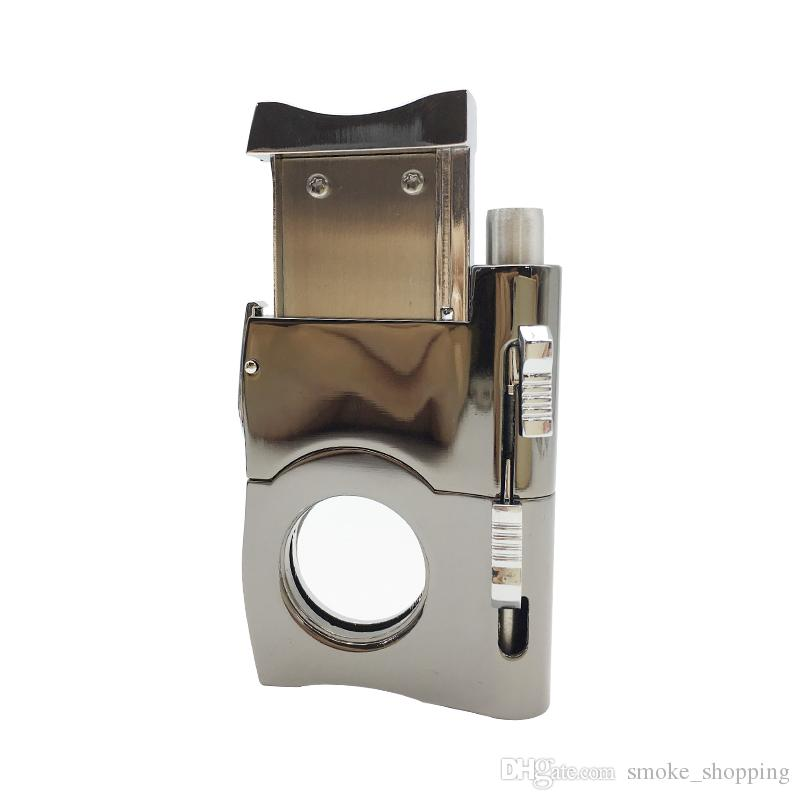 Multi-use Product Cigar Cutter Punch Fit COHIBA Cigar Cutter Scissors Cigar Accessories Wholesale price