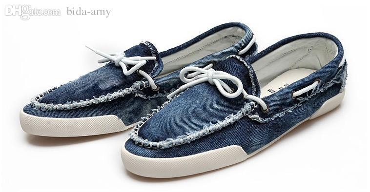 Wholesale 2015 New Arrival Low Price Mens Zapato Del Boat Casual Shoes  Jeans Canvas Slip On Flats Loafer Shoes QT1 Women Shoes Mens Sandals From  Longmian f0bcf1c64380