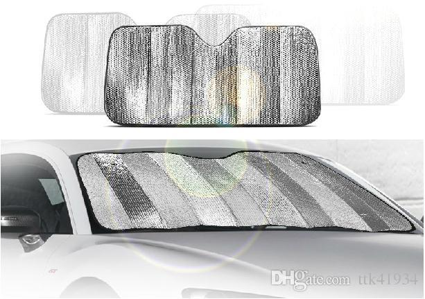 Top Window Foils Windshield Sun Shade Car Windshield Visor Cover Block  FF85