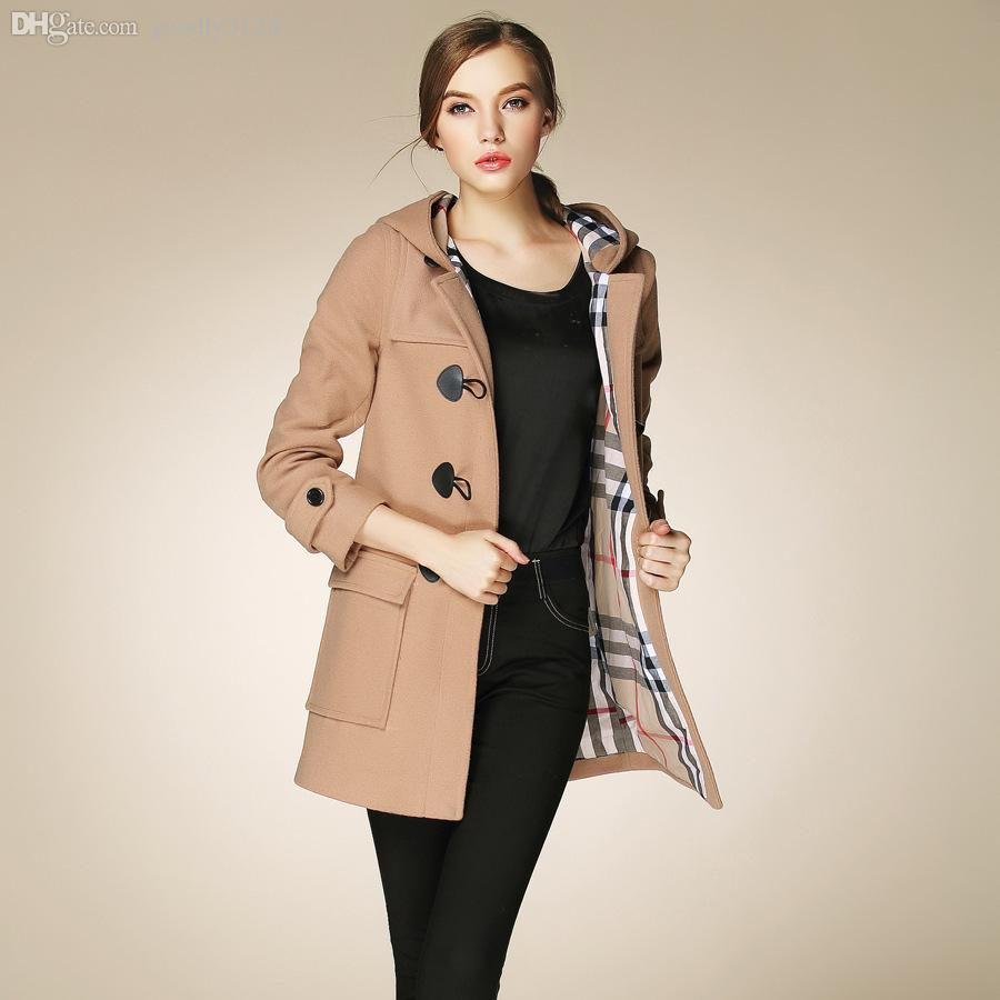 Online Cheap Wholesale Fasicat High Quality Womens Duffle Coat ...