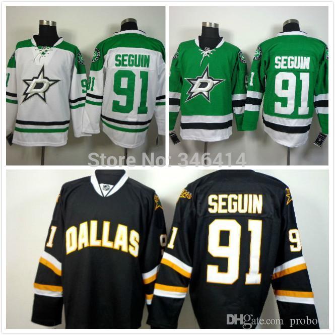 014 New Style Dallas Stars Hockey Jerseys 91 Tyler Seguin Jersey ... 0d695226e
