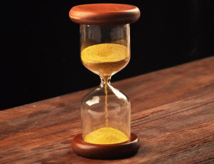 2018 sand timer handmade 2 minute timer hourglass sand clock home