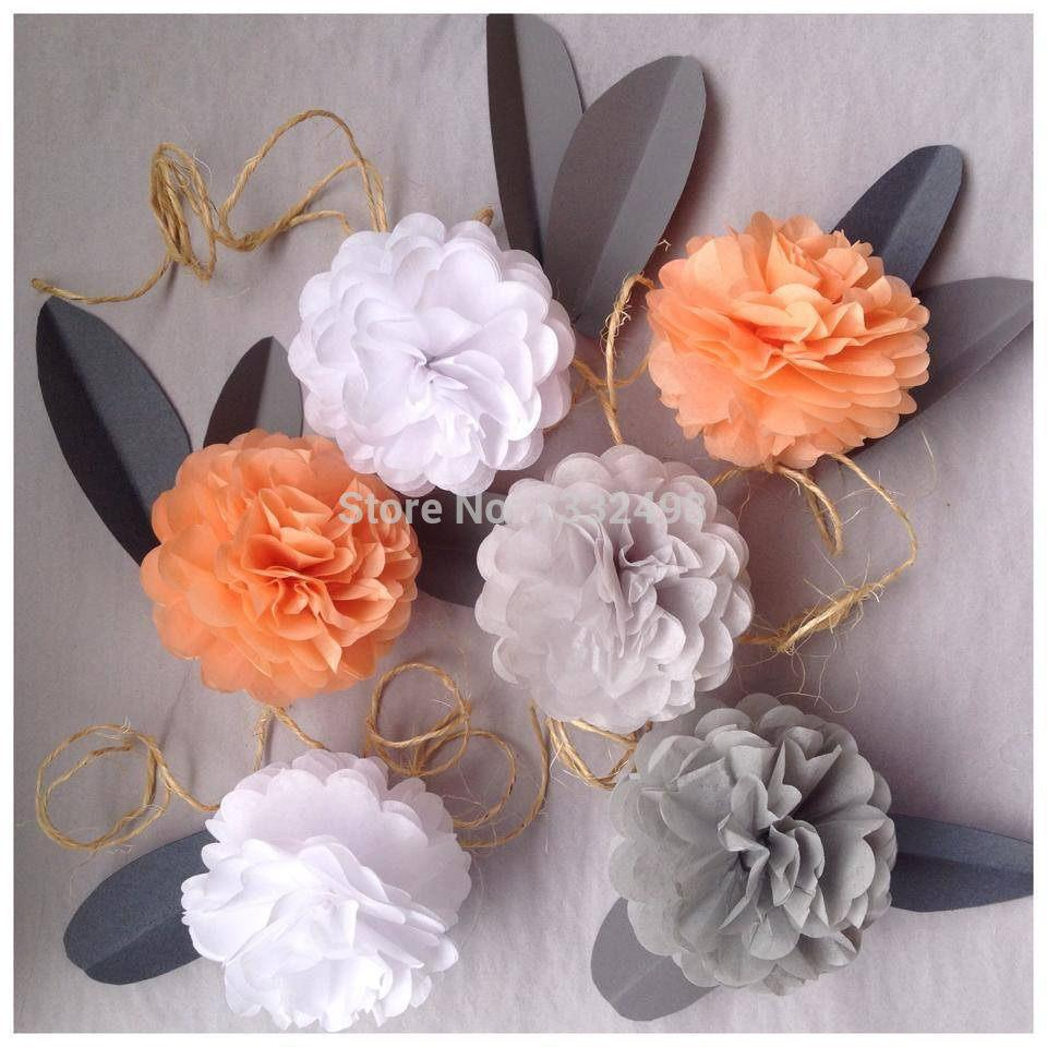 Baby shower wedding buy tissue paper poms tissue paper pom pom kit - Best Hot 4 10cm Tissue Paper Pom Poms Artificial Flowers Diy Paper Hot 4 10cm Tissue
