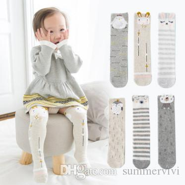 b1f63c663 Baby Socks Winter Newborn Warmer Legs Children Cute Penguin Rabbit ...