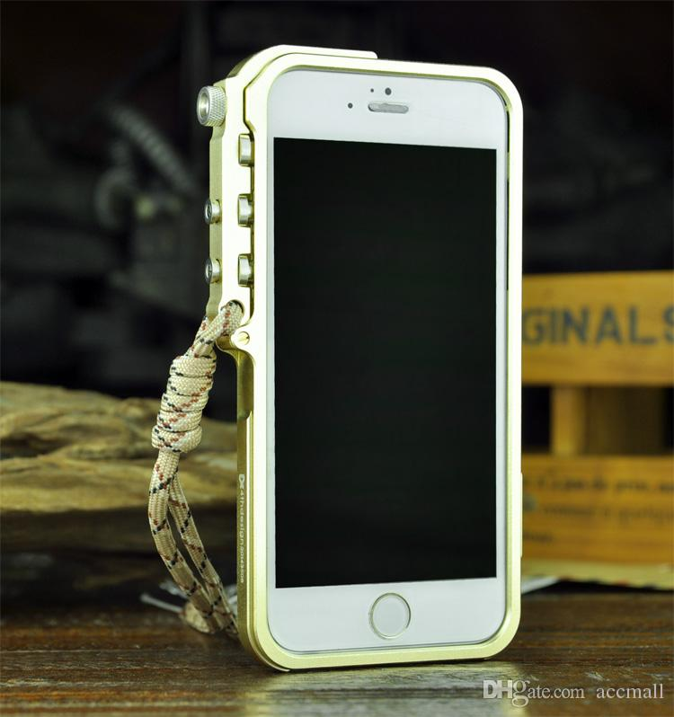 Paraurti in alluminio di lusso in metallo iPhone 6 Plus 4.7 5.5 pollici M2 4th Design Trigger Frame Custodia rigida Cover Cleave Tough Armor iPhone6 ​​6G