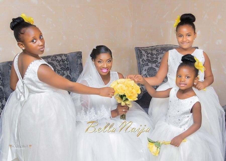 Aso Ebi Styles Flower Girl Dresses Bellanaija Wedding