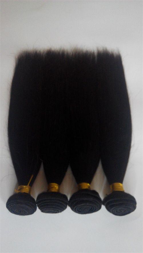 Brazilian Malaysian 8-30inch Human Hair Weave European Virgin Straight Hair Weaves Weft Cheap Double Weft Indian Human hair Extensions