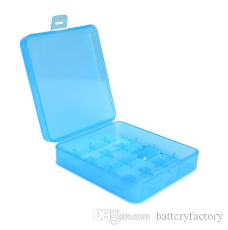 NEW Arrival,Plastic Battery Storage Case Battery Box Storage Container Pack 4*18650 Battery Holder Box For E Cig Battery DHL Shipping4 hole