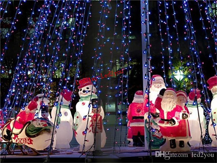 10M 100LEDs 글로브 Led 문자열 조명 9 색 공 요정 빛 파티 크리스마스 결혼식 신년 Indooroutdoor 장식