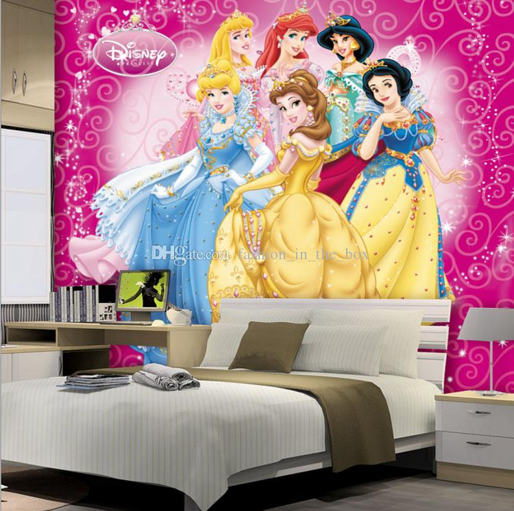 Lovely Princesses Girls Kids Wallpaper 3d Photo Wallpaper Custom Wall Murals  Cartoon Interior Design Bedroom Nursery Room Decor Snow White Screensavers  ... Part 67