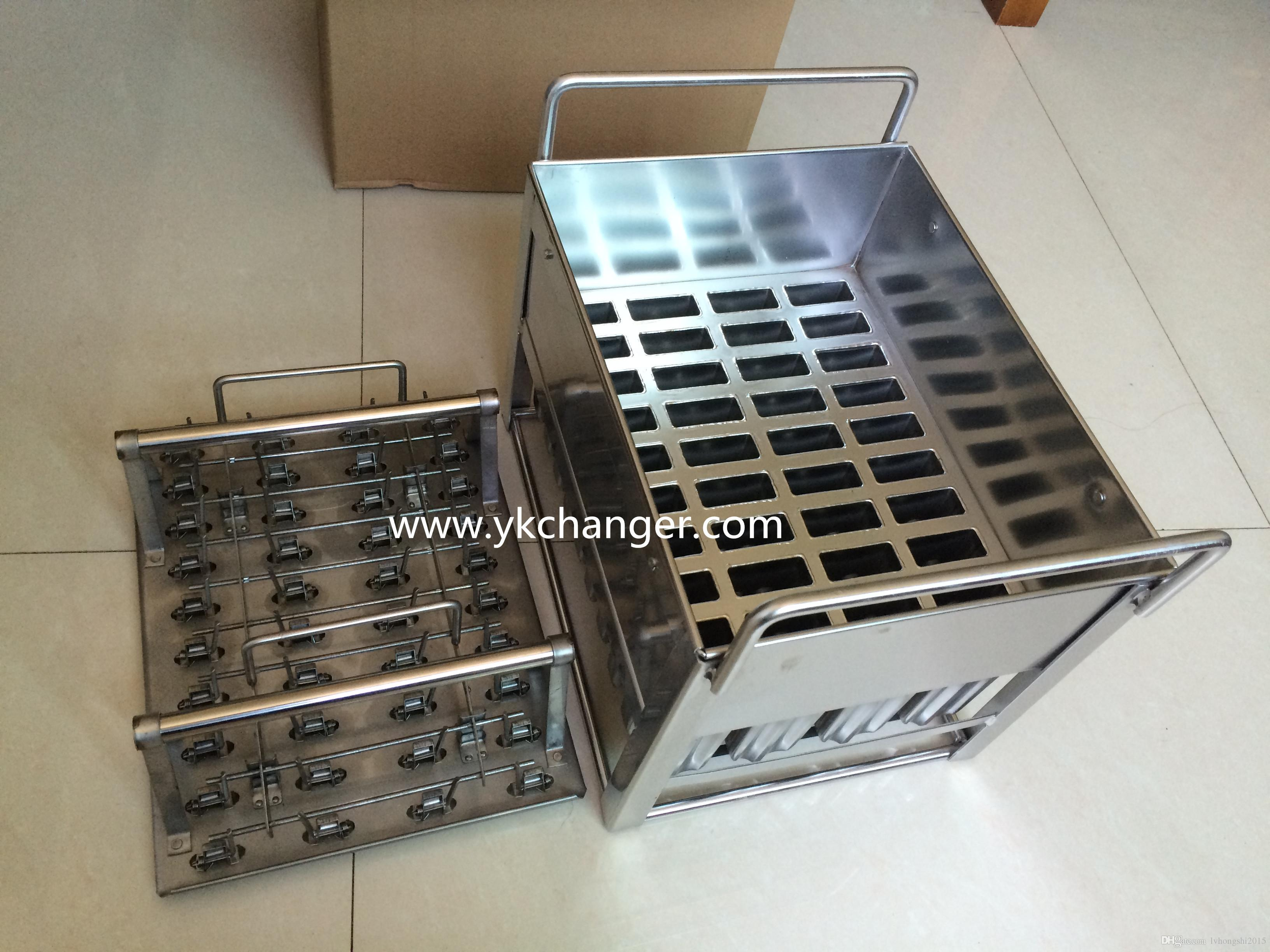 2019 Ice Lolly Moulds Stainless Steel 304ss 40 Sticks With