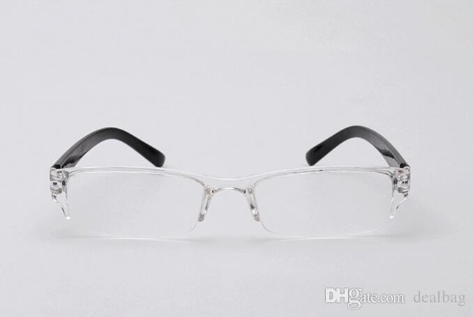 Gafas de lectura de plástico al por mayor-moda, TR90 Mini sin montura presbicia lector de bolsillo, Gafas de lectura de óptica de diseño para mujeres
