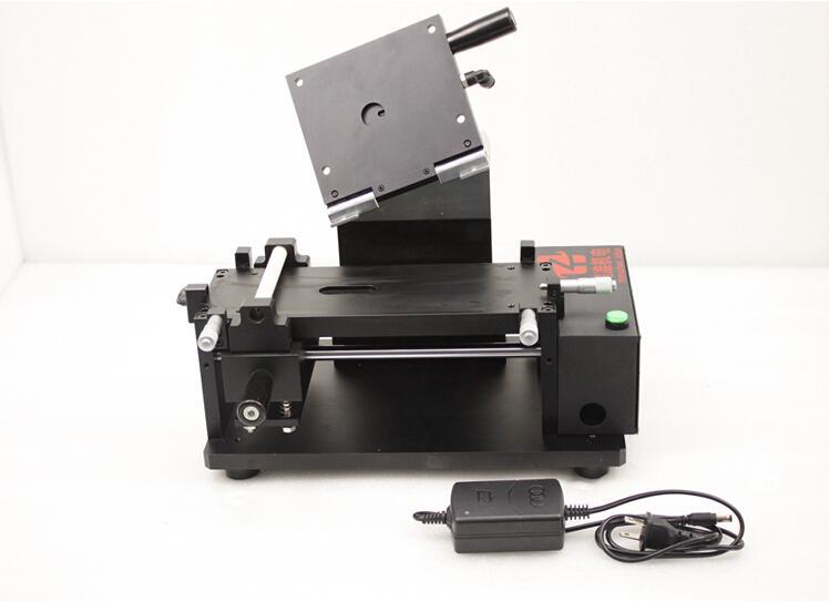 Macchina di laminazione incorporata del film di OCA della pompa di vuoto ad alta precisione manuale da 5,7 pollici il polarizzatore ottico della colla di OCA