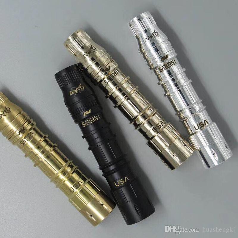 AVlyfe saturn AV Mod 24mm Diameter 18650 Vape Able Mods For AV RDA E Cigarette High quality DHL Free