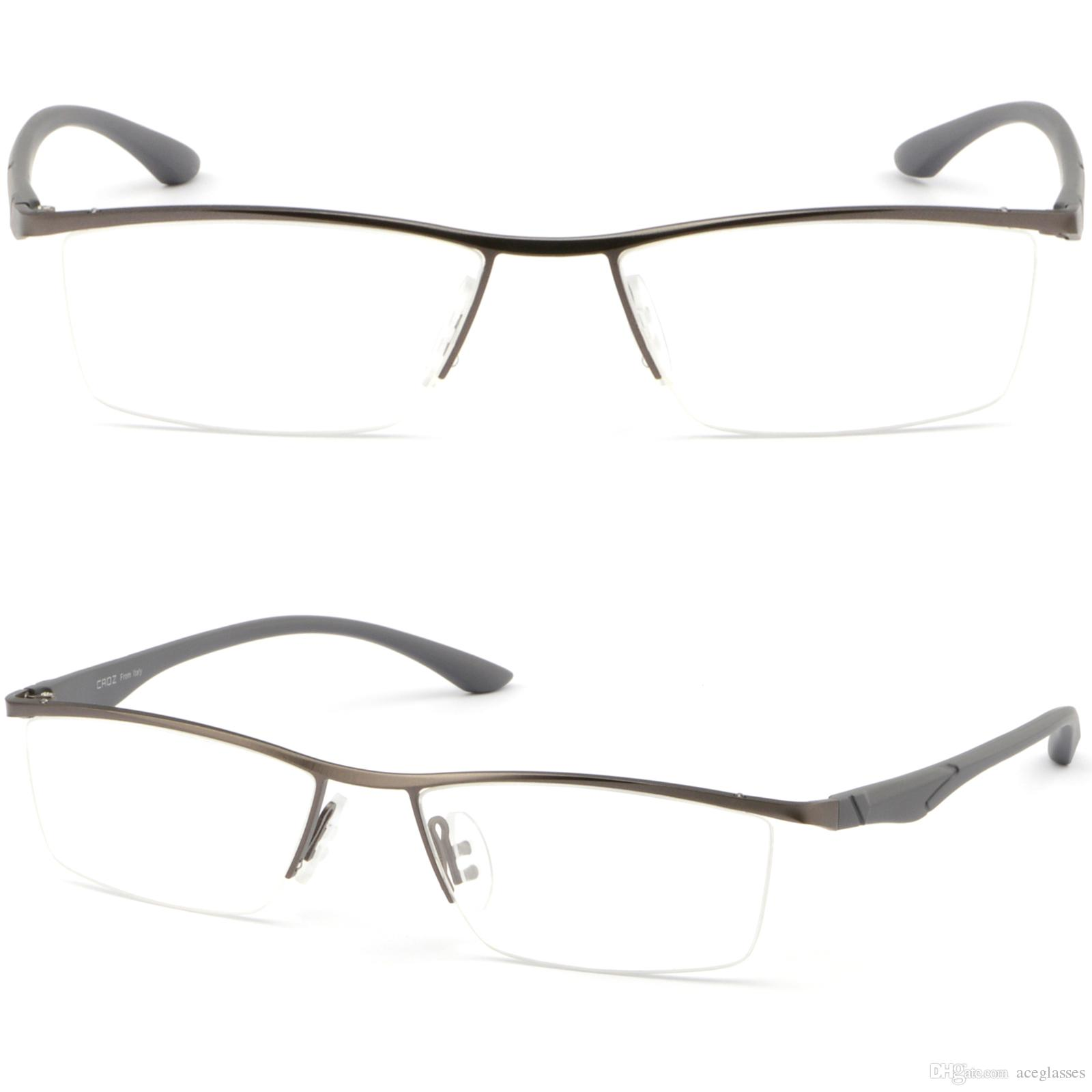 mens womens titanium frame metal prescription glasses sunglasses anti glare gray glasses frame online with 3423piece on aceglassess store dhgatecom - Best Online Prescription Glasses