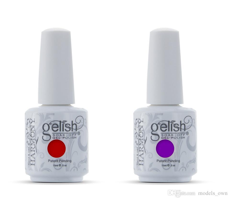 Harmony Gelish Nail Polish Soak Off Uv Led Gel Solid Uv