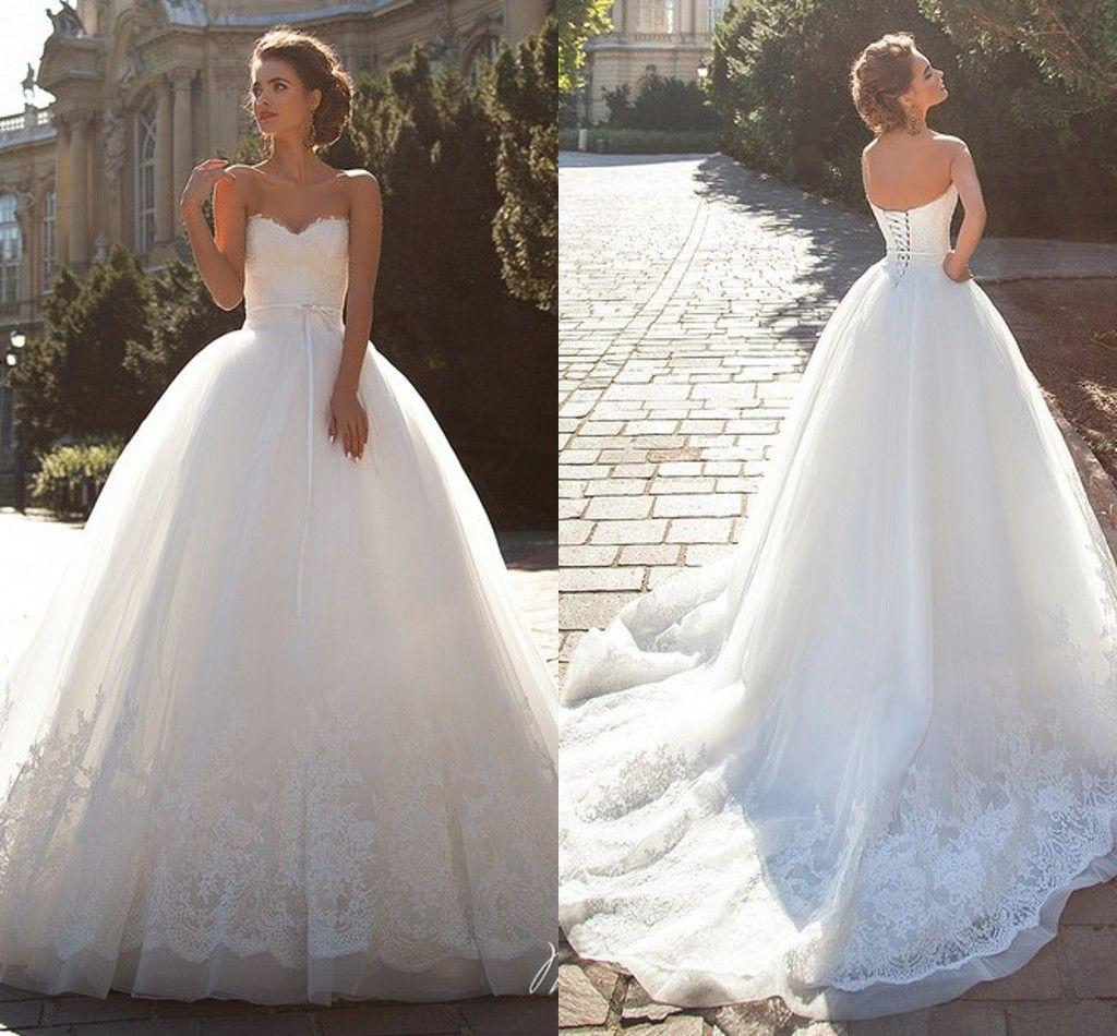 Vintage Wedding Dresses Perth: Lace Vintage Millanova 2016 Wedding Dresses Sweetheart
