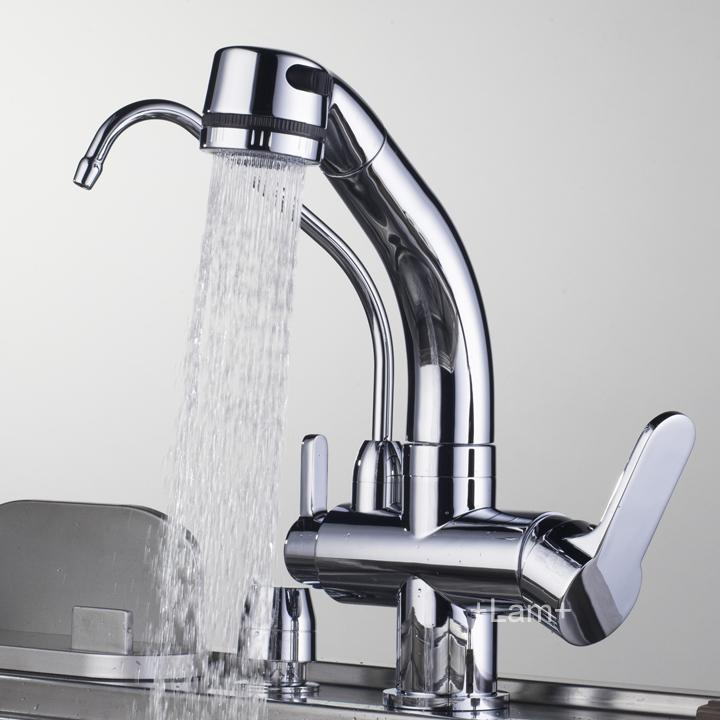 drinking water dispenser faucet. Best Quality Solid Brass Copper Kitchen Sink Chrome Pull Out Faucet Mixer  Water Purifier Drinking Dispenser At Cheap Price Online traditional kitchen with carrara white marble countertop instant