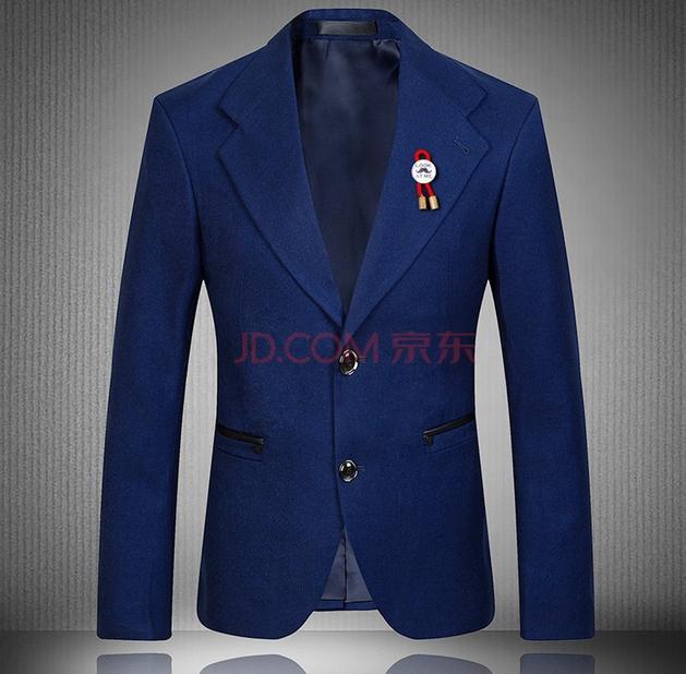 Британский ветер красный костюм влажная весна мода мужчины Мужской Хань издание молодежи маленький костюм пальто синий мыть и носить культивировать свою мораль