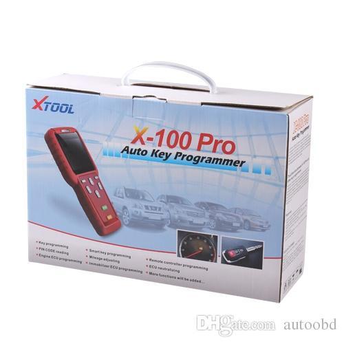 DHL free original x100 pro Auto Key Programmer updated online x-100 pro key programmer Asia,Europe, America x100 key pro