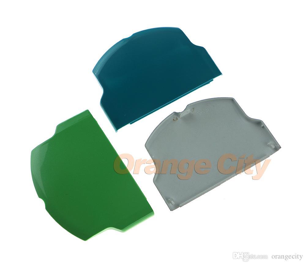 ل PSP3000 البطارية حالة البطارية غطاء الباب إصلاح جزء ل PSP 3000 8 ألوان للاختيار