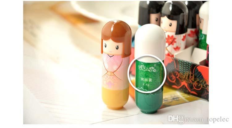 립밤 립밤 귀여운 만화 립밤 기모노 인형 립 밤 영양 # 71504
