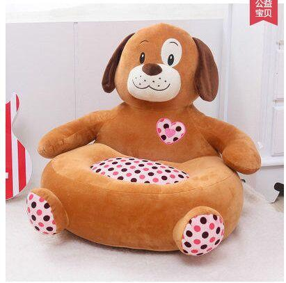 2018 Children A Beanbag Chair Dog Elephant Giraffe Plush Toys