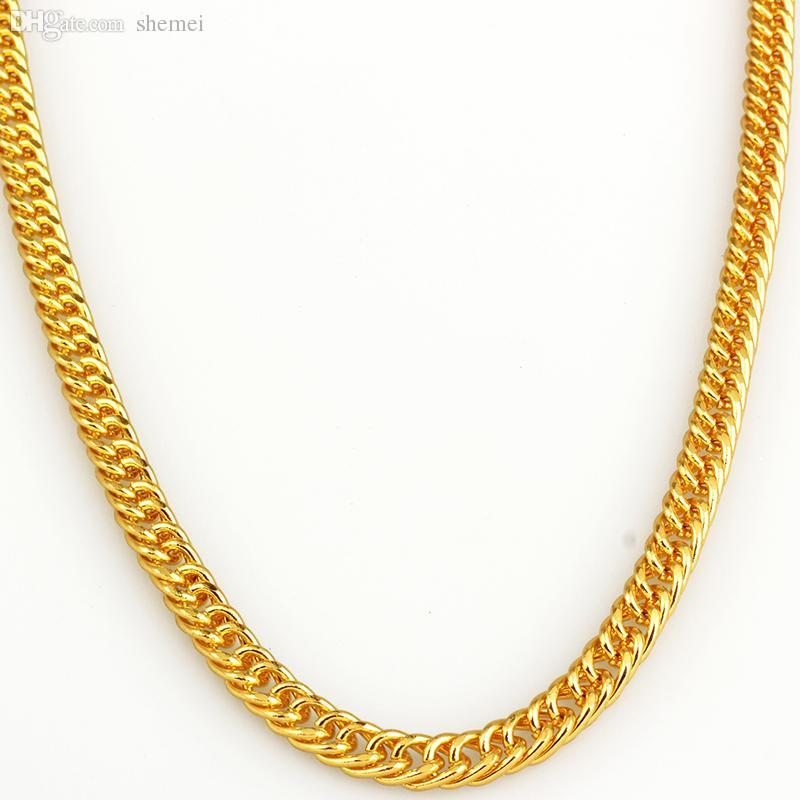 Best Wholesale Wholesale 18k Gold Plated Necklace Hip Hop Mens