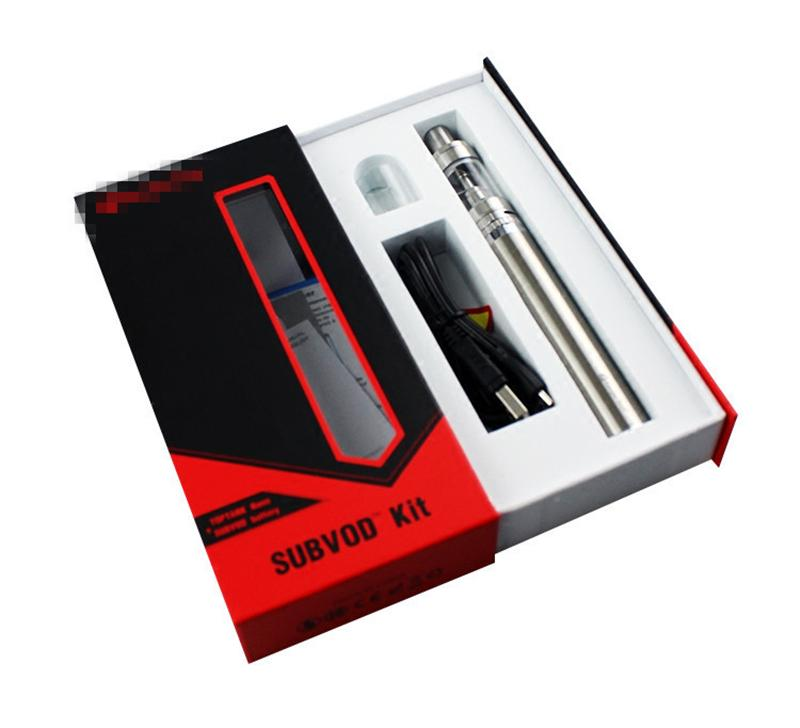Authentic Kanger Subvod Starter Kit 1300mA With 3.2ml Top Refilling Toptank Nano Tank 0.5ohm Coil Kanger Tech