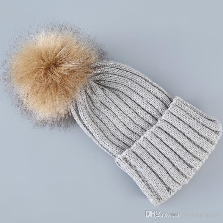 2017 Korean fashion Hats ladies wool hat parent-child ear protection warm hair knitting hat factory Price Xmas hat