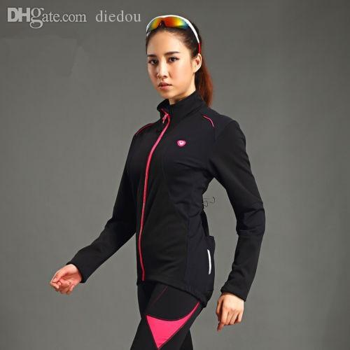 Wholesale-Santic New Bicycle Cycling Windproof Fleece Thermal Jersey ... 7c3c5a14c