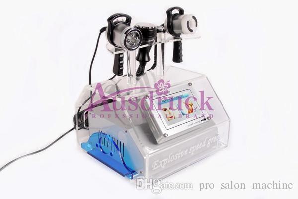 Neue 5-1 Ultraschall Kavitation RF Vakuum Biopolar Radiofrequenz Gesichtspflege Hautverjüngung Abnehmen Maschine