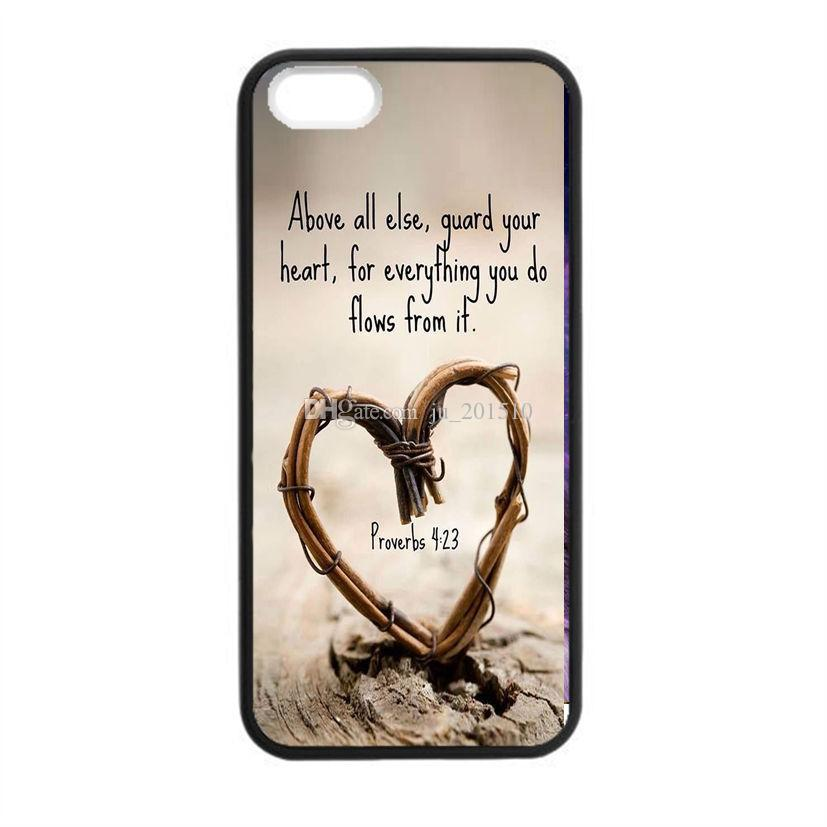 Trendy Love Quotes Proverbs Life Inspritional Sayings Case Cover For Iphone 5 5s Black Protective Phone Skins Western Cell Cases Phones
