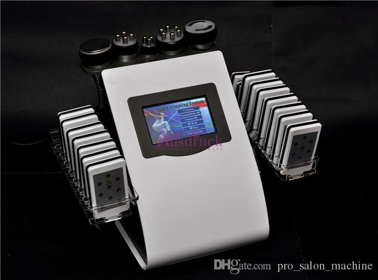 Nuovo 18 cuscinetti Lipo Laser macchina dimagrante cavitazione ad ultrasuoni radiofrequenza vuoto tripolare RF multipolare cura del viso perdita di peso
