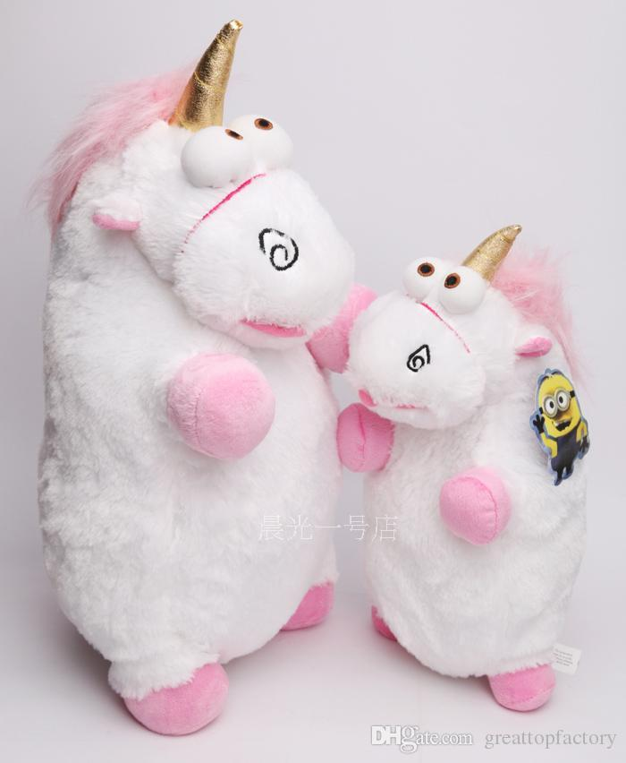 Hot 56cm 40cm 2 Size Despicable Me Plush Toy Unicorn Plush Doll Unicorn Toy Moive Toy Chrismas Gift In Bag Gfcbi8