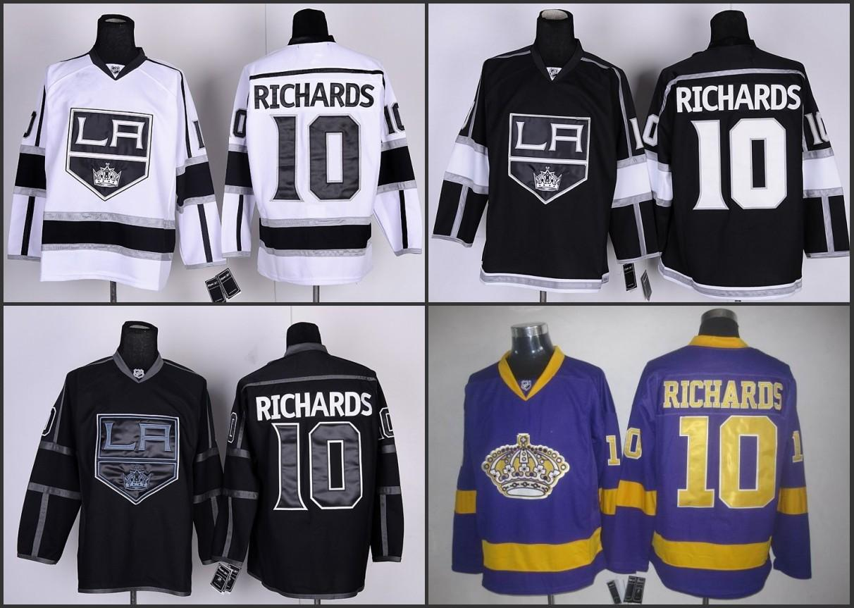 ... Kings 10 Mike Richards Black Home 2014 Stanley Cup Champions Stitched  NHL Jersey 16 ... 53cd06ba7